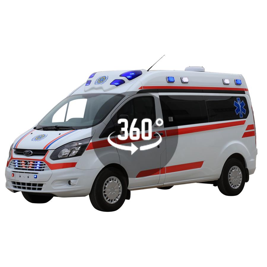瑞弗救护车 VR全景