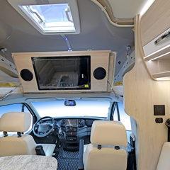 海姆朗宸C60 环形沙发会客区布局房车